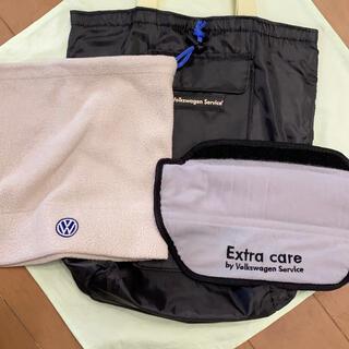 Volkswagen - VW シートベルトカバー・ネックウォーマー・保冷バッグ 3点セット