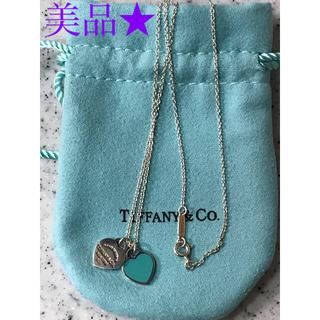 Tiffany & Co. - ティファニーハートタグ ネックレス