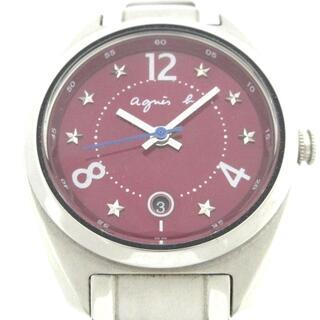 アニエスベー(agnes b.)のアニエスベー 腕時計 - レディース 星柄(腕時計)