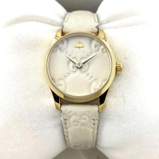 Gucci - グッチ  Gタイムレス ビー BEEGG柄 レディース腕時計