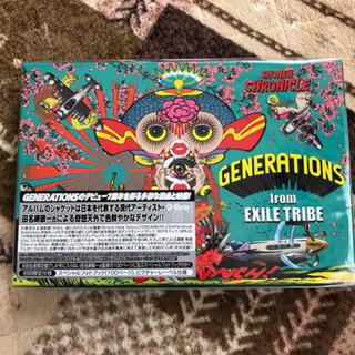ジェネレーションズ(GENERATIONS)のSHONEN CHRONICLE(初回生産限定盤/Blu-ray Disc付)(ポップス/ロック(邦楽))
