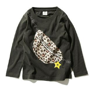 デビロック(DEVILOCK)のdevirock デビロック デビラボ ロゴ プリント Tシャツ 130cm 黒(Tシャツ/カットソー)
