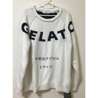 gelato pique - ジェラートピケオム ルームウェア セーター Lサイズ メンズ