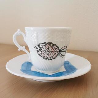 ミナペルホネン(mina perhonen)のレア リチャードジノリ ミナペルホネン パスザバトン コラボ カップ&ソーサー (グラス/カップ)