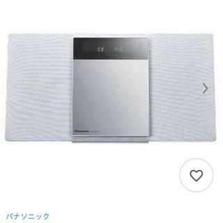 パナソニック(Panasonic)のパナソニック 「ワイドFM対応」Bluetoミニコンポ SC−HC410−W (スピーカー)