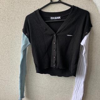 スタイルナンダ(STYLENANDA)のCRANK 韓国 服 (Tシャツ(長袖/七分))