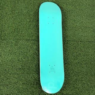 カラースケートボード ブランクデッキ 8.0インチ E.GREEN(スケートボード)