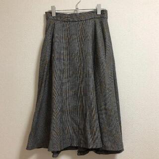 ロペ(ROPE)のロペ   グレンチェック   スカート 38(ロングスカート)