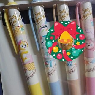 ダッフィー(ダッフィー)の新商品★ダッフィー★ボールペン★Say Cheese!★クッキーアン ボールペン(ペン/マーカー)