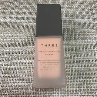 スリー(THREE)の新品 スリー コントロールカラー プライマー ピンク(化粧下地)