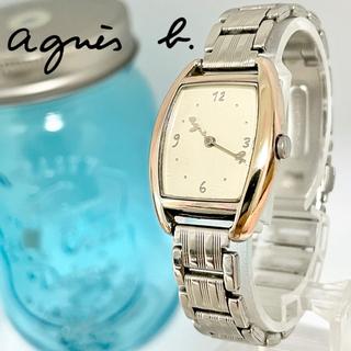 アニエスベー(agnes b.)の36 アニエスベー時計 レディース腕時計 新品電池 スクエア(腕時計)