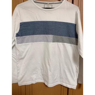 イッカ(ikka)のikka  長袖 tシャツ Mサイズ (Tシャツ/カットソー(七分/長袖))