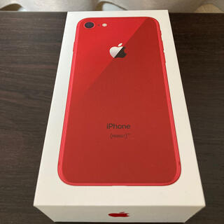 iPhone - iPhone8 64G product red SIMロック解除済 【送料無料】
