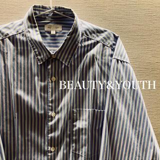 ビューティアンドユースユナイテッドアローズ(BEAUTY&YOUTH UNITED ARROWS)のBEAUTY&YOUTH ストライプシャツ(シャツ)