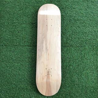 カラースケートボード ブランクデッキ 7.75インチ NATURAL(スケートボード)
