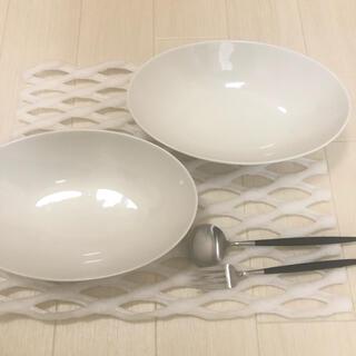 Francfranc - フランフラン 2枚セット 食器 お皿 プレート ホワイト