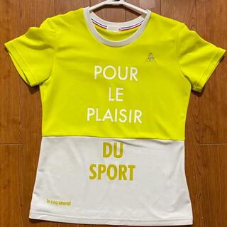 ルコックスポルティフ(le coq sportif)の値下げ‼️ lecoq sportif スポーツ レディース Tシャツ(ウェア)