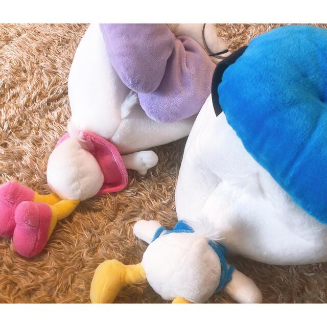 Daisy(デイジー)のディズニー帽子 ドナルドデイジーセット エンタメ/ホビーのおもちゃ/ぬいぐるみ(キャラクターグッズ)の商品写真