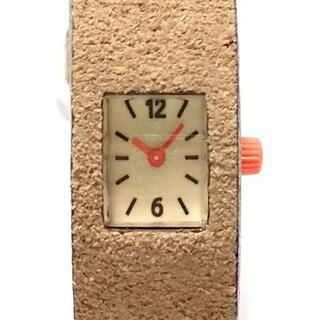 ズッカ(ZUCCa)のZUCCA(ズッカ) 腕時計美品  レディース(腕時計)