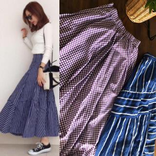 ZARA - 未使用★baybeeギンガムチェックフレアースカート 完売品