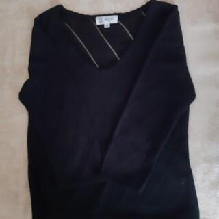 ミッシェルクラン(MICHEL KLEIN)のMICHAEL KLEIN 七分袖セーター(ニット/セーター)