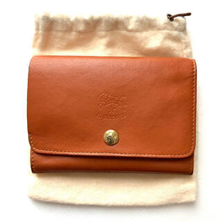 イルビゾンテ(IL BISONTE)のイルビゾンテ IL BISONTE ウォレット 二つ折り財布 ヤケヌメ(財布)