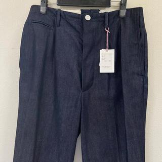 コモリ(COMOLI)のkiji デニムスラックス パンツ メンズ M(Size4)(デニム/ジーンズ)