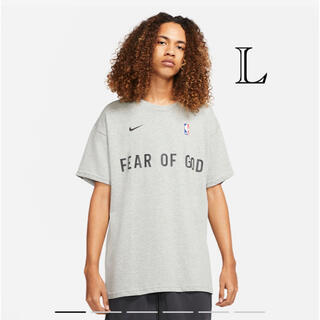 NIKE - FEAR OF GOD ×NIKE ウォームアップTシャツ L