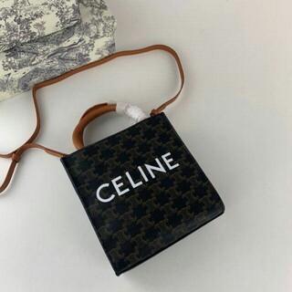 celine - CELINE セリーヌ  2way  ミニ キャメル