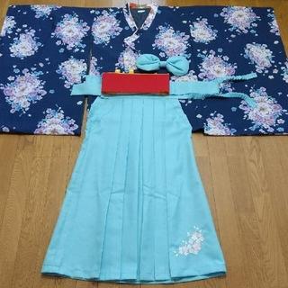 Catherine Cottage - キャサリンコテージ 袴 150~160 女の子 簡単袴 髪飾りセット 卒業式