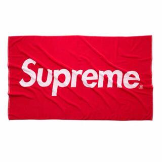 シュプリーム(Supreme)のsupreme 12ss box logo ビーチタオル(タオル/バス用品)