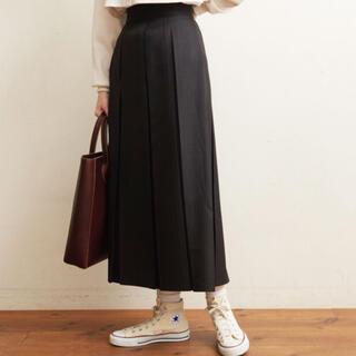 フィグロンドン(fig London)のミホ様 専用wool mood boxpleats skirt(ロングスカート)