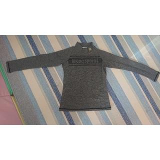 ルコックスポルティフ(le coq sportif)のルコック ハイネック 長袖Tシャツ グレー(Tシャツ(長袖/七分))