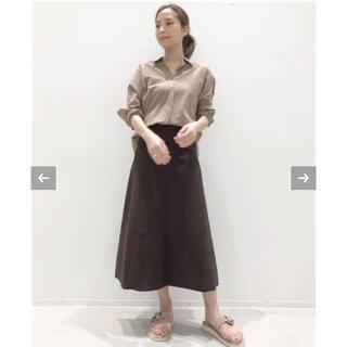 アパルトモンドゥーズィエムクラス(L'Appartement DEUXIEME CLASSE)のL'Appartement☆Flare スカート/ブラウン34(ロングスカート)