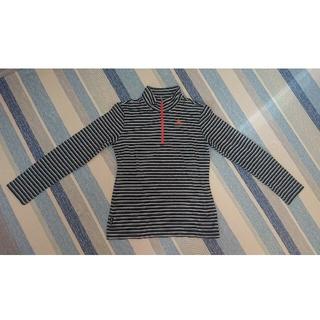 ルコックスポルティフ(le coq sportif)のルコック ジッパー付長袖Tシャツ Mサイズ(Tシャツ(長袖/七分))