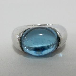 バカラ(Baccarat)のBaccarat(バカラ) リング - ライトブルー(リング(指輪))