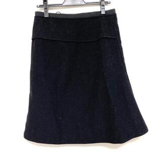 ジルサンダー(Jil Sander)のジルサンダー スカート サイズ38 S - 黒(その他)
