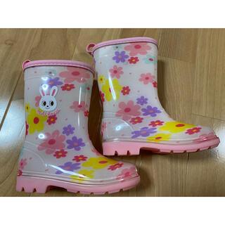 mikihouse - ミキハウス 長靴 レインブーツ うさこちゃん