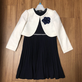 プティマイン(petit main)の美品 petit main フォーマルドレス 120cm(ドレス/フォーマル)