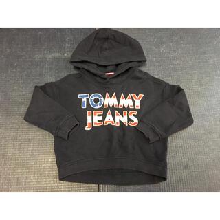 トミーヒルフィガー(TOMMY HILFIGER)のTOMMYHILFIGER ネイビーパーカートレーナー 104(Tシャツ/カットソー)
