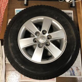 三菱 - パジェロ V93W 17インチ 純正ホイール+タイヤ 1セット 背面タイヤ