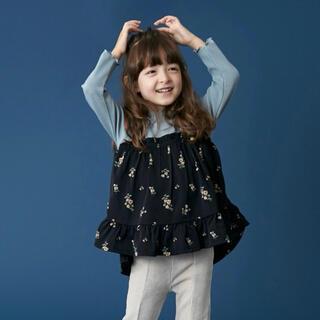プティマイン(petit main)のプティマイン 120 花キャミソールドッキングTシャツ(Tシャツ/カットソー)