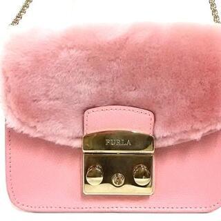 フルラ(Furla)のフルラ ショルダーバッグ美品  ピンク(ショルダーバッグ)