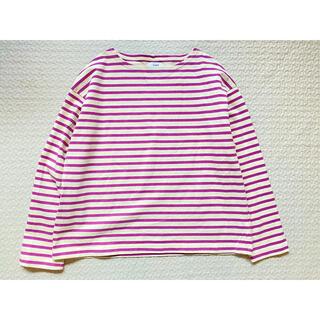 coen - コーエン ワイドバスクシャツ ライラック ピンク