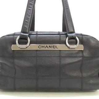 シャネル(CHANEL)のシャネル ショルダーバッグ チョコバー 黒(ショルダーバッグ)