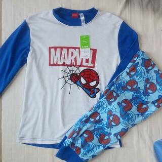 マーベル(MARVEL)の男の子 MARVEL  スパイダーマン 長袖 パジャマ 130 (パジャマ)