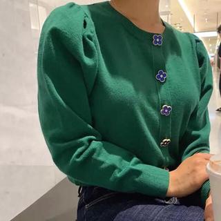 ザラ(ZARA)のカーディガン 未使用 冬服 秋服 バースデイバッシュ 韓国 韓国服 ZARA(カーディガン)