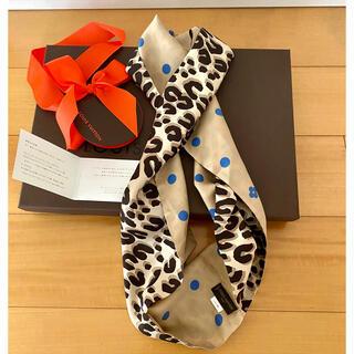 ルイヴィトン(LOUIS VUITTON)のルイヴィトン LOUIS VUITTON スヌード スカーフ(バンダナ/スカーフ)