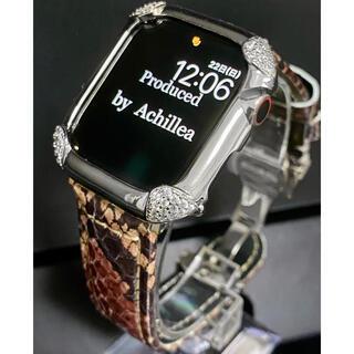 アップルウォッチカスタムカバーベルトセット スーパーパイソンエクストラ(腕時計(デジタル))