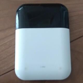 エヌイーシー(NEC)のdocomo モバイルルーター L-04D ホワイト (その他)